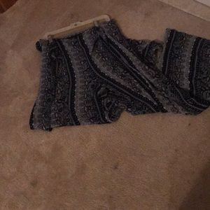 NEVER WORN Tie-Front Wide-Legged Pants